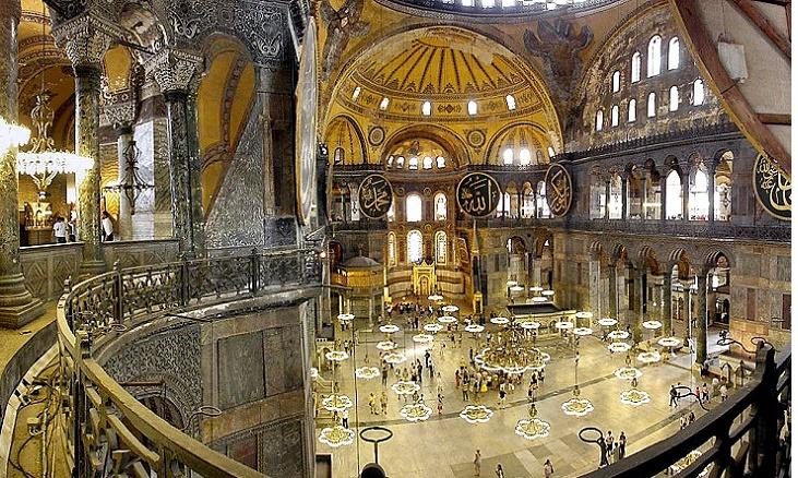 Ayasofya Camii ve Müzesi | Camiler, Türbeler, Evliyalar ...